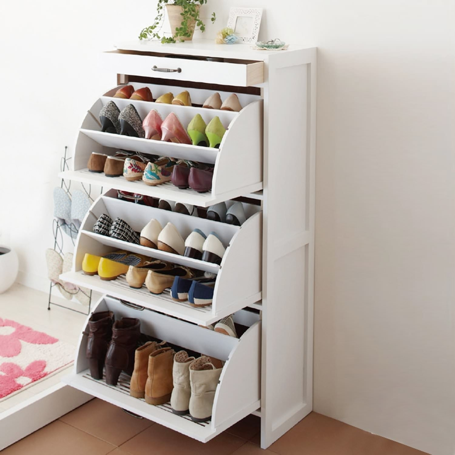Narrow Shoe Rack Ideas On Foter