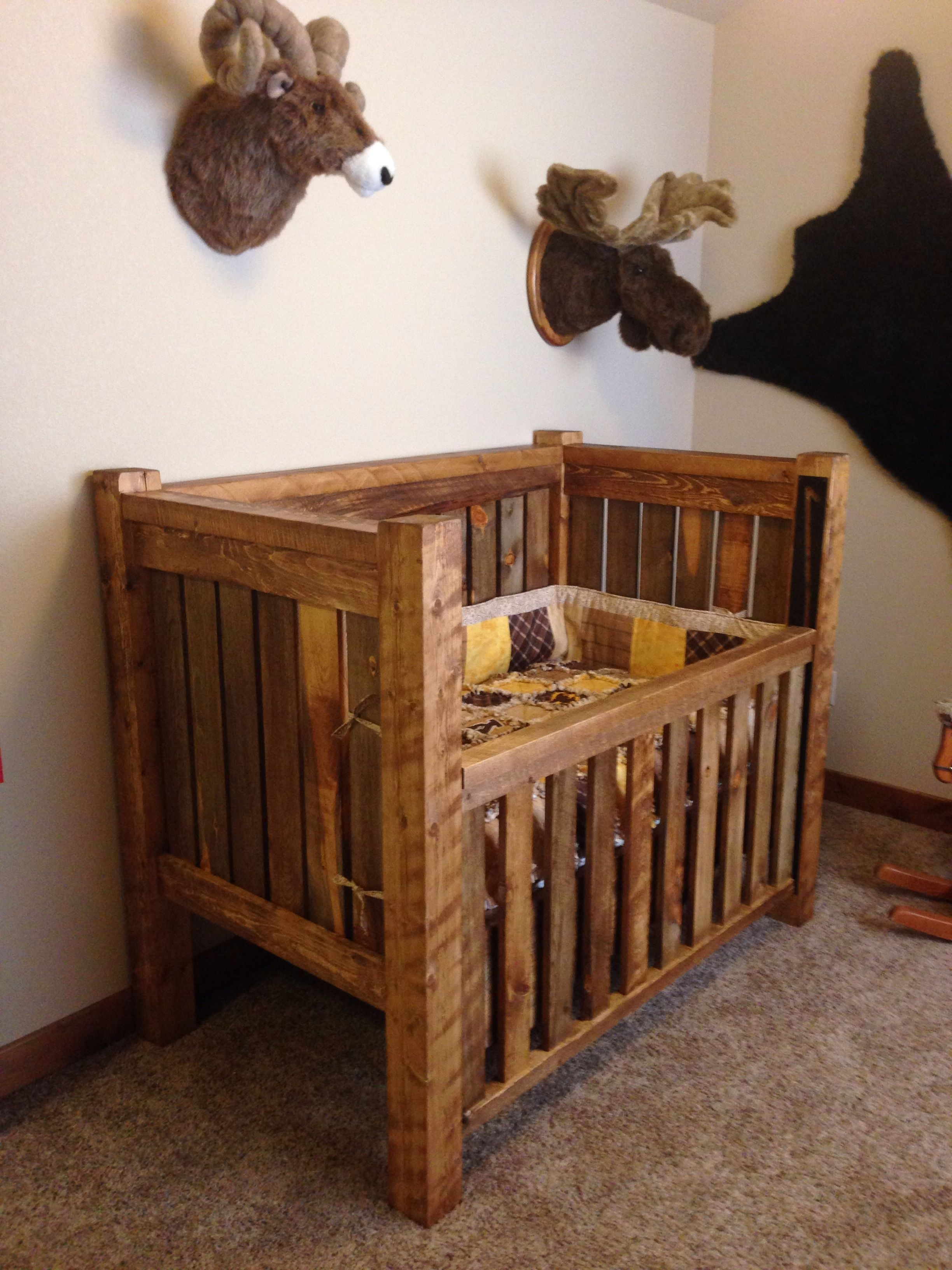 Natural Wood Baby Crib Ideas On Foter