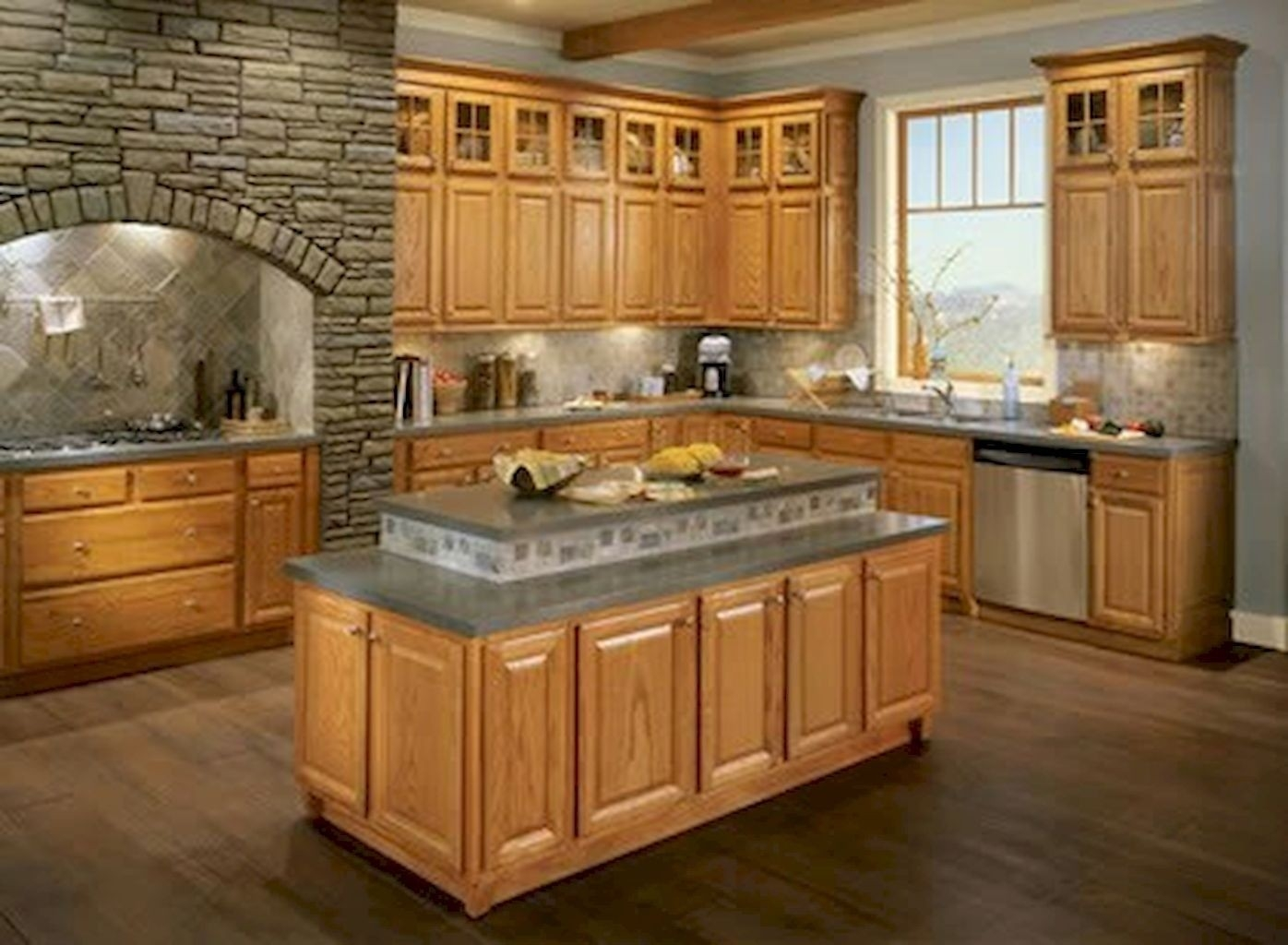 Oak Cabinets Ideas On Foter