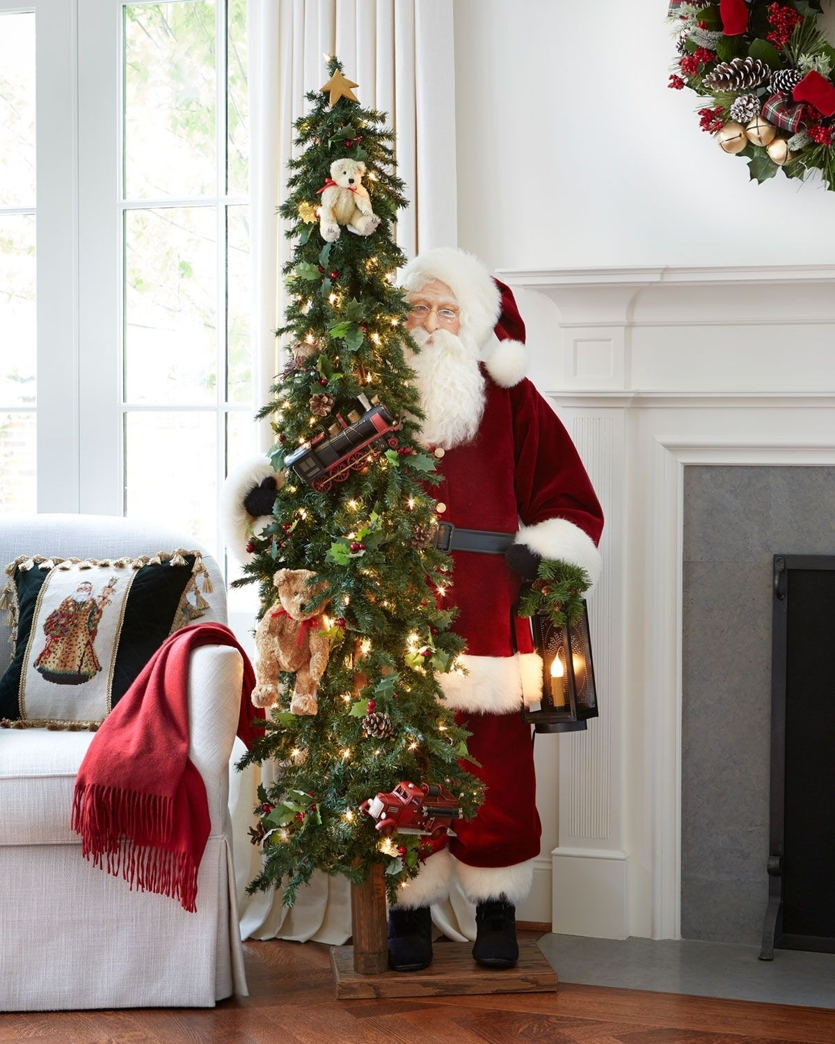 Image of: 50 Best Outdoor Santa Claus Decorations Ideas On Foter
