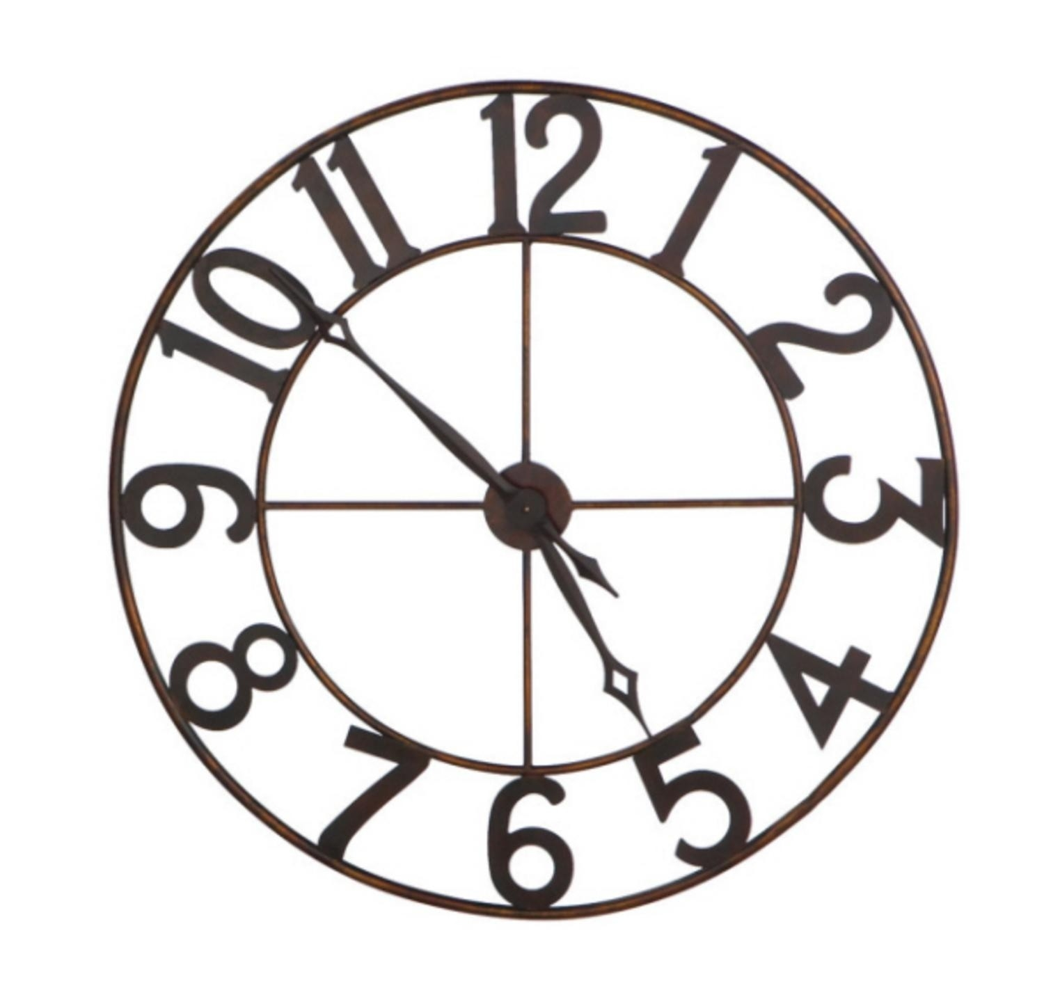 Oversized Wall Clock Ideas On Foter