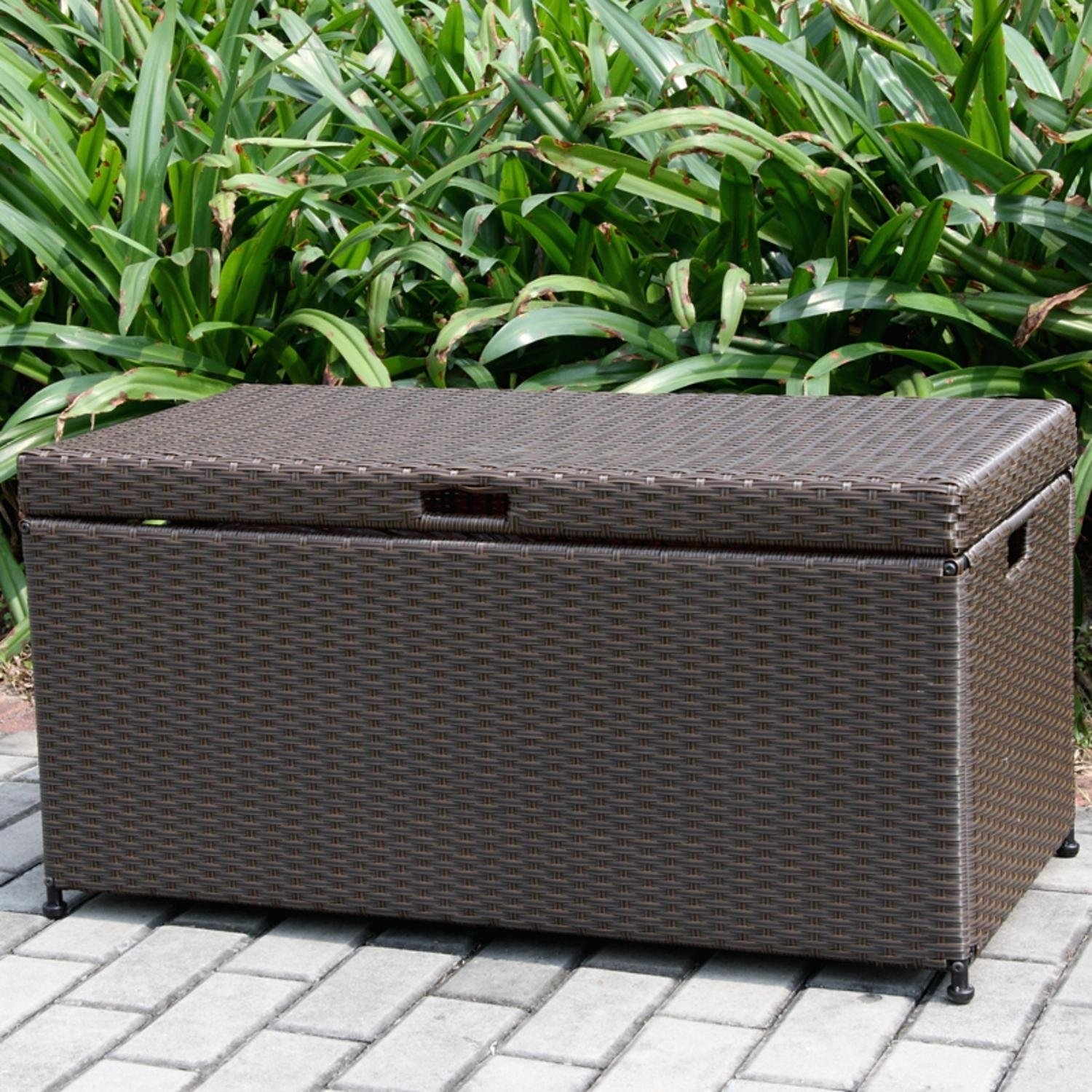 Patio Furniture Cushion Storage Boxes Ideas On Foter