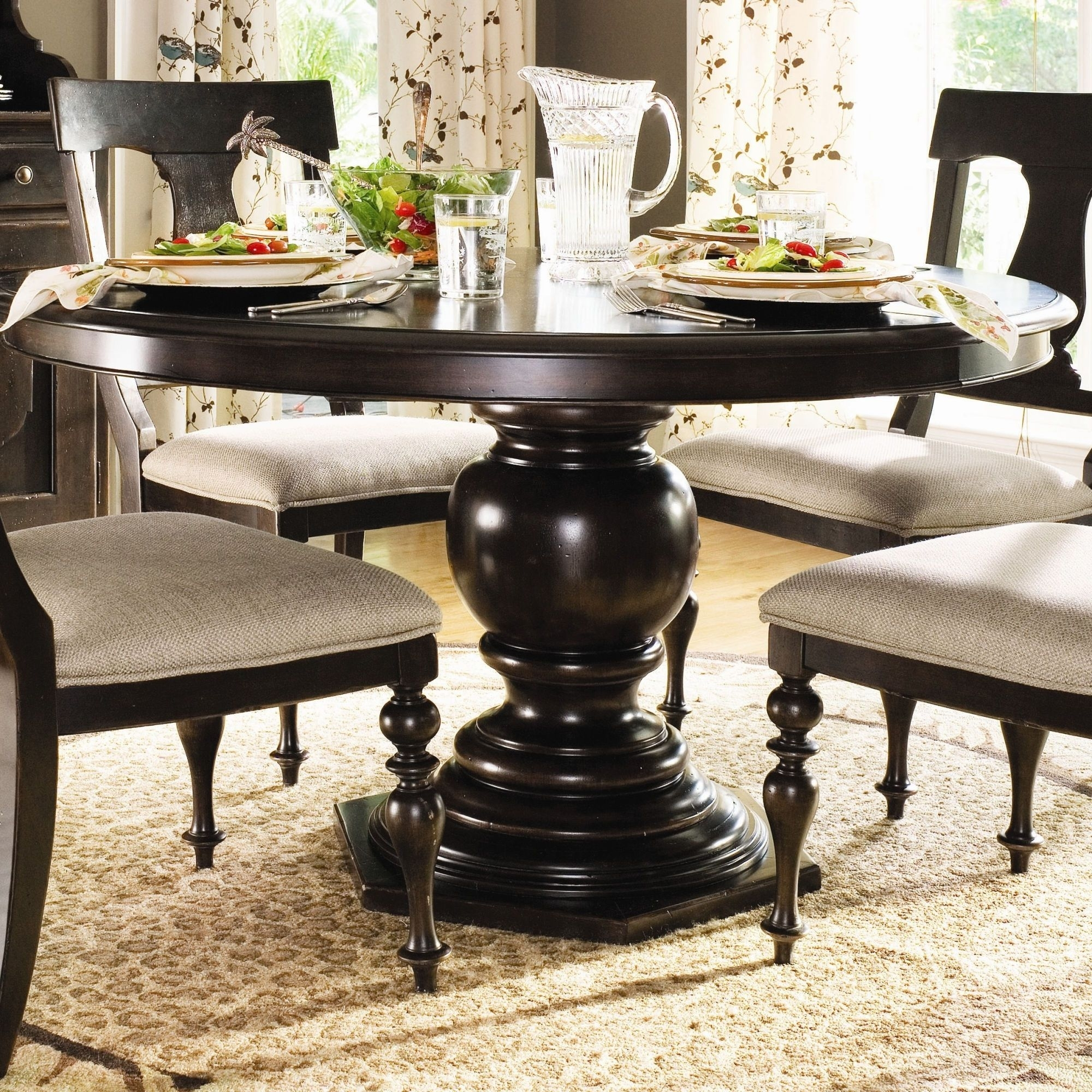 Image of: Paula Deen Pedestal Dining Table Ideas On Foter