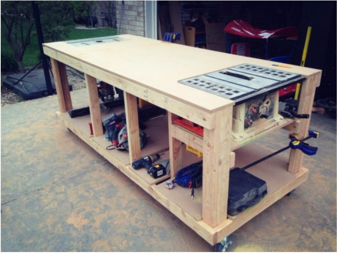 Portable Work Benches Ideas On Foter