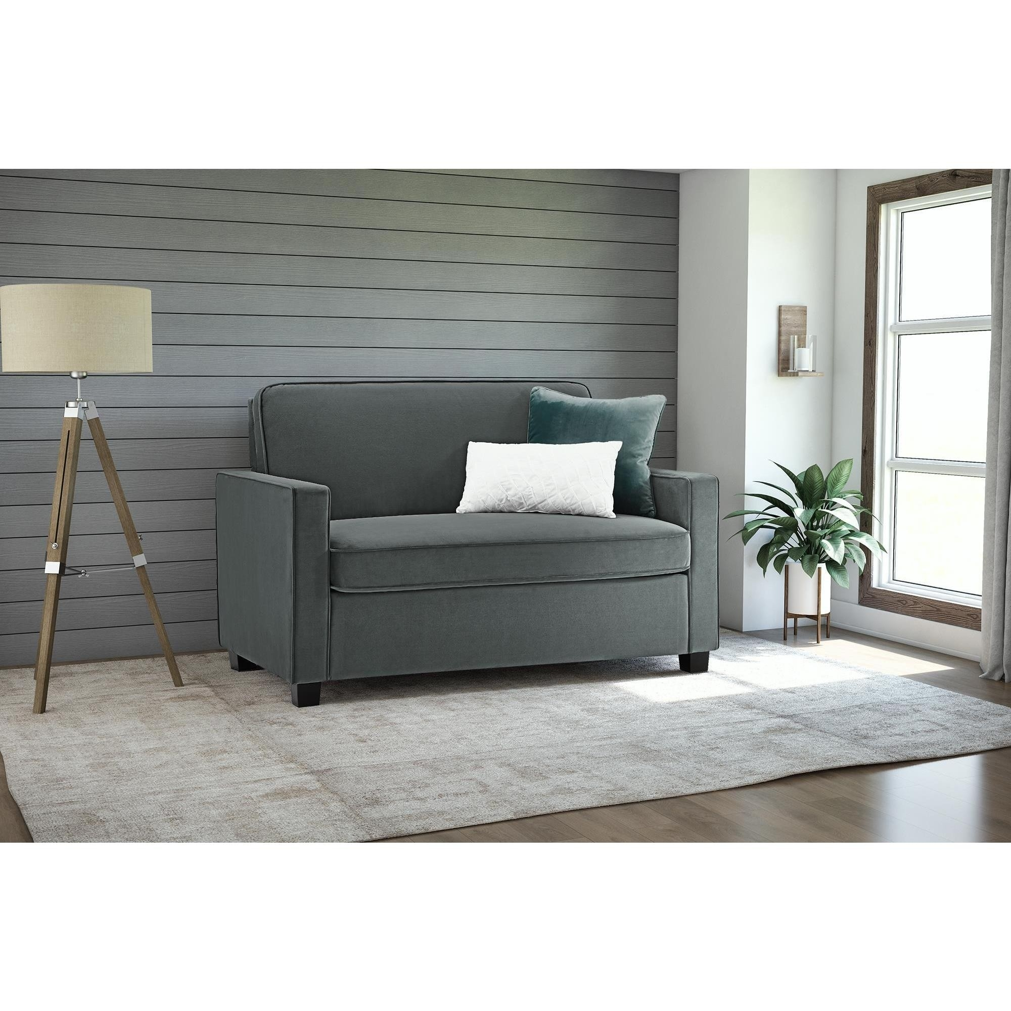 Picture of: Pull Out Loveseat Sofa Bed Ideas On Foter