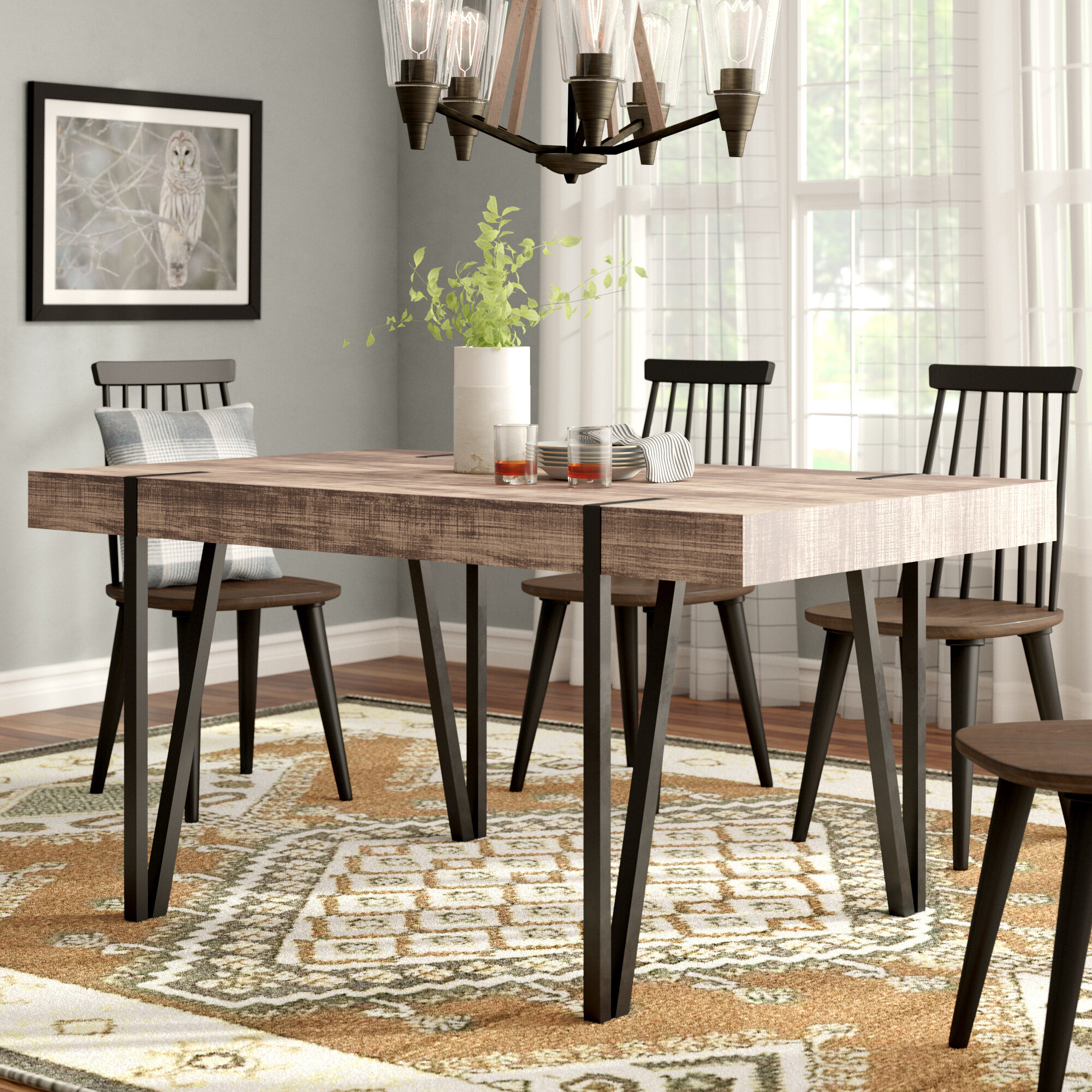 Rectangle Dining Table Ideas On Foter