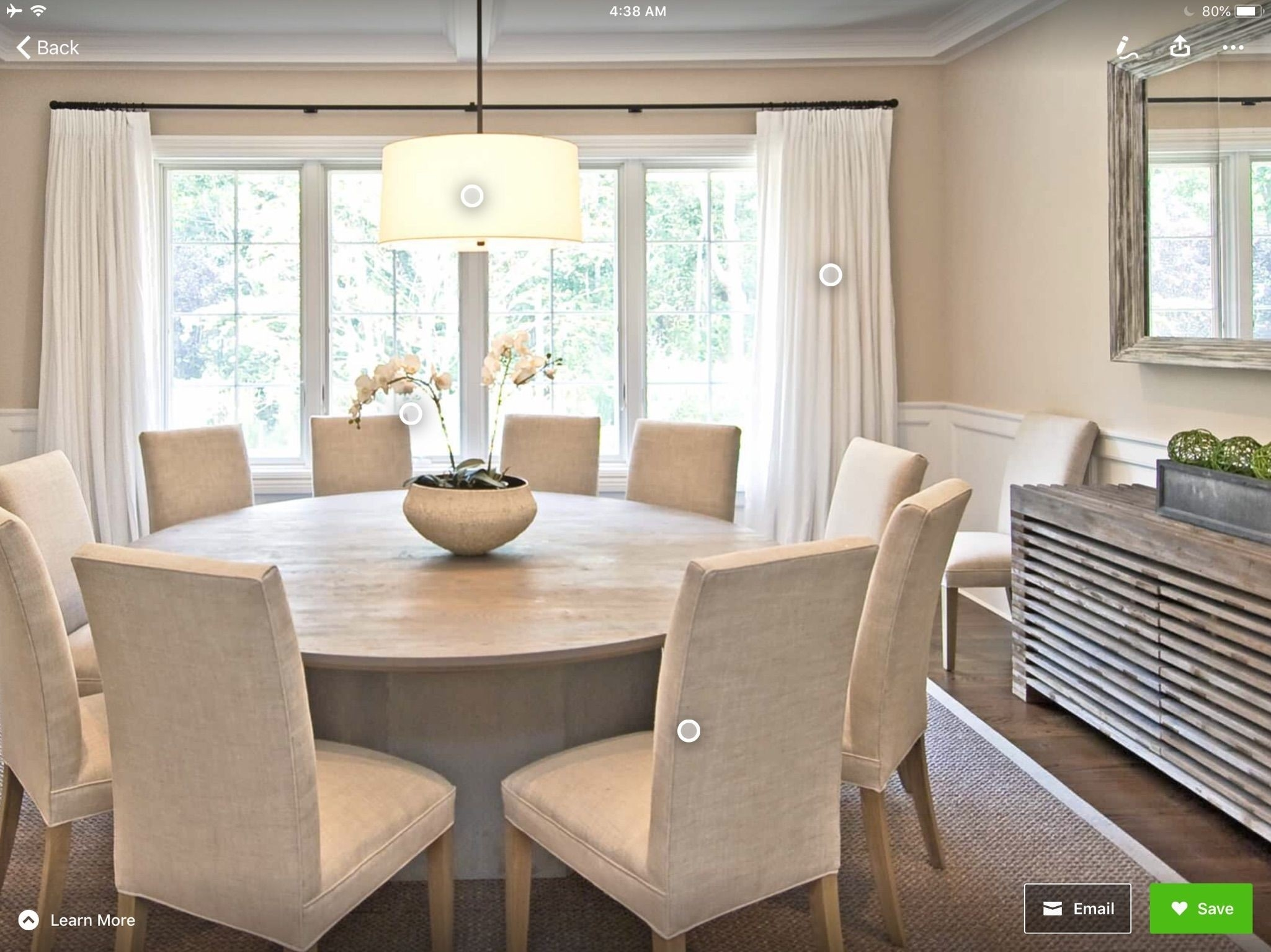 Picture of: Round Dining Table Seats 10 For 2020 Ideas On Foter
