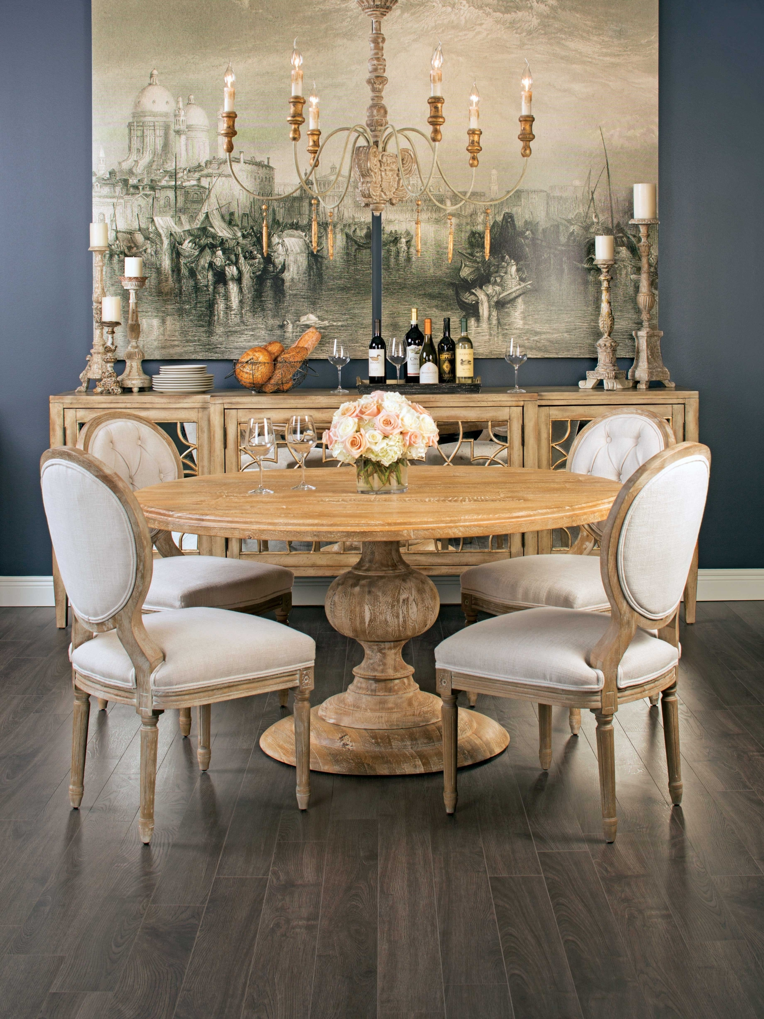Round Wood Dining Room Table Sets - Ideas on Foter