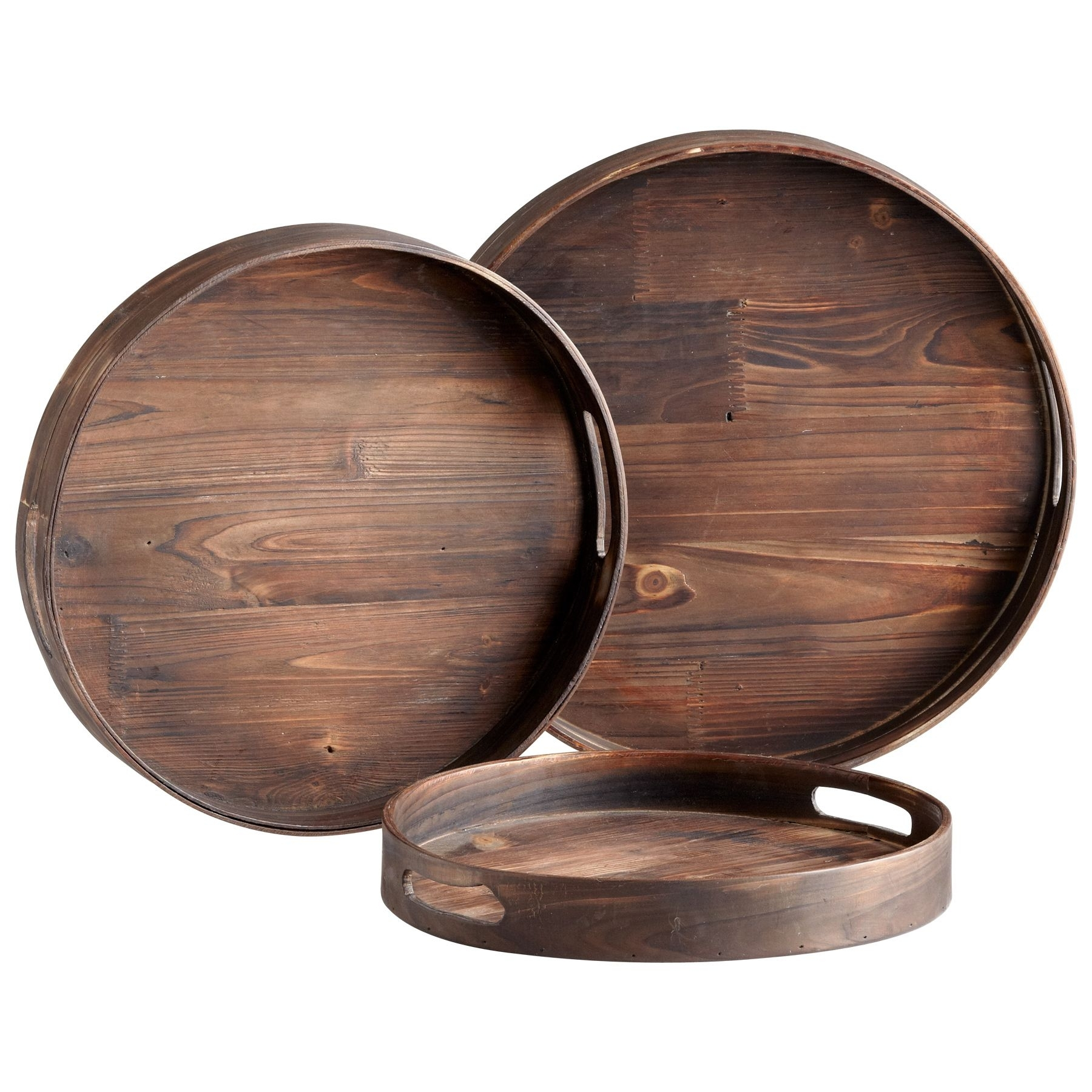 Round Wooden Tray Ideas On Foter