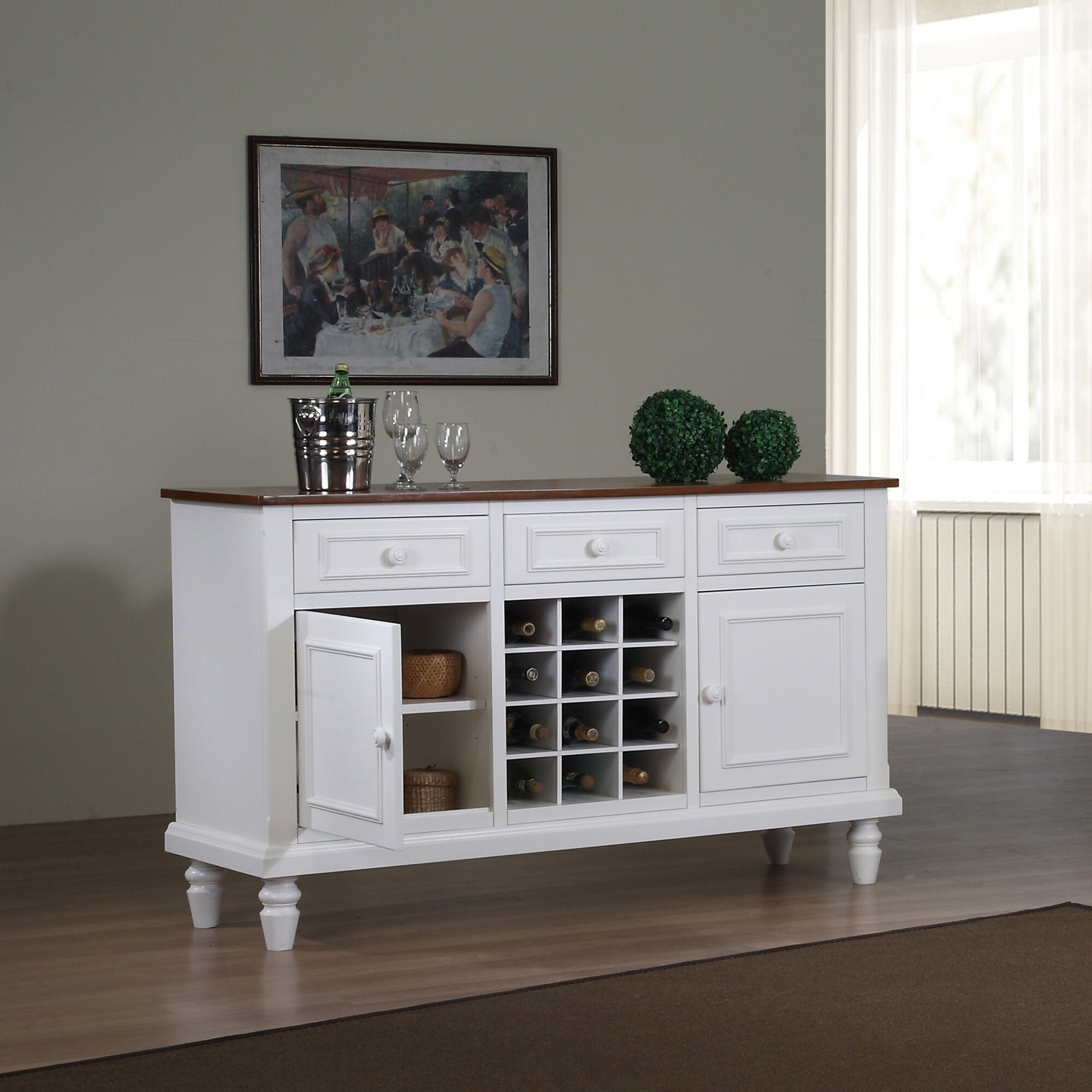 Picture of: Sideboard Buffet With Wine Rack Ideas On Foter