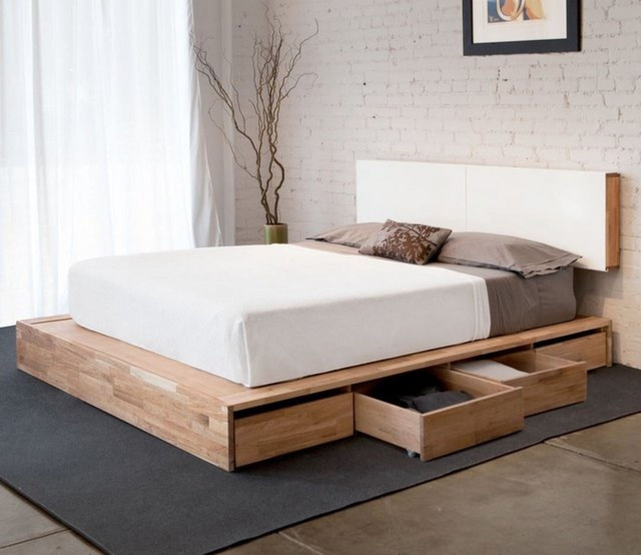 Picture of: Simple Platform Beds Ideas On Foter