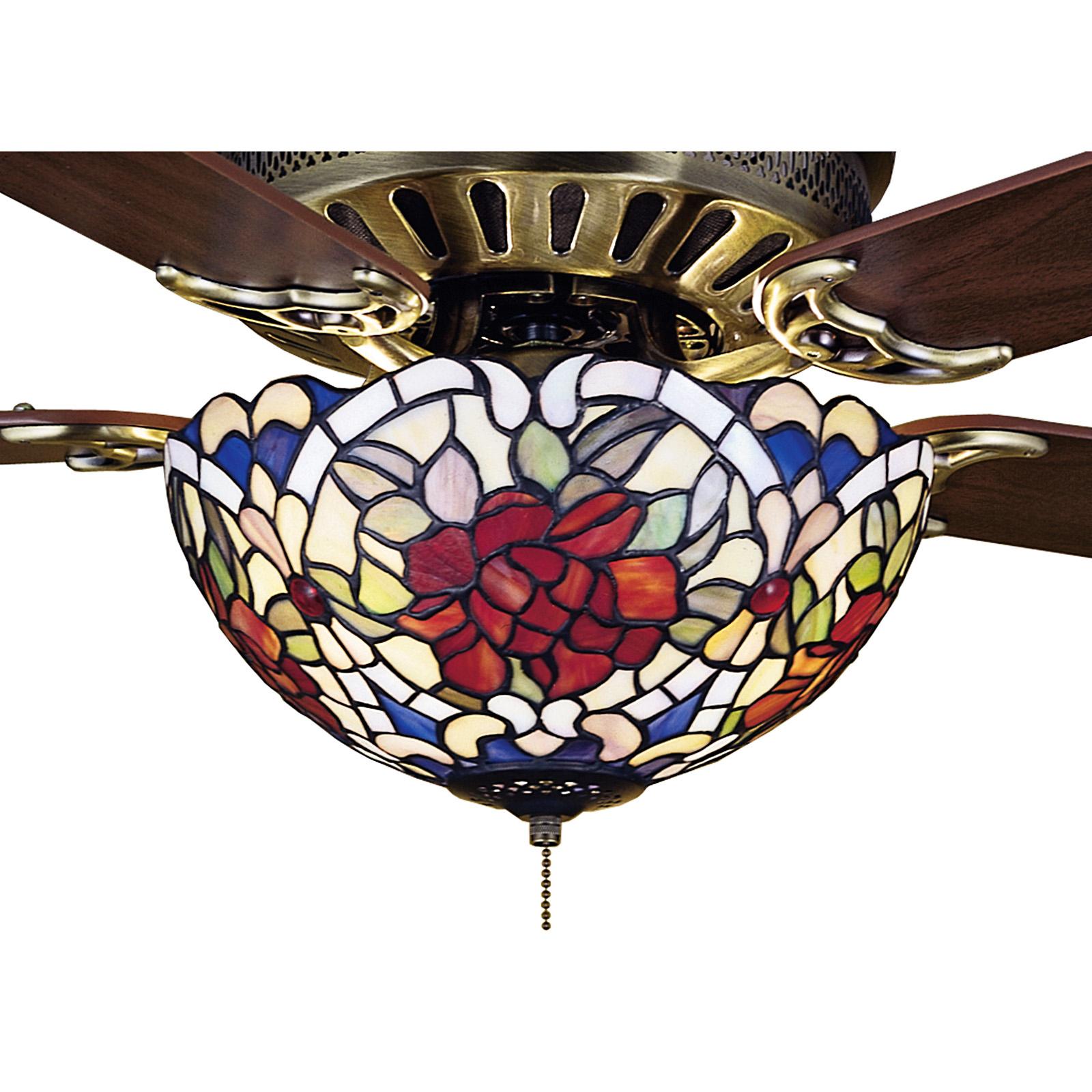 Tiffany Style Ceiling Fan Light Shades Ideas On Foter