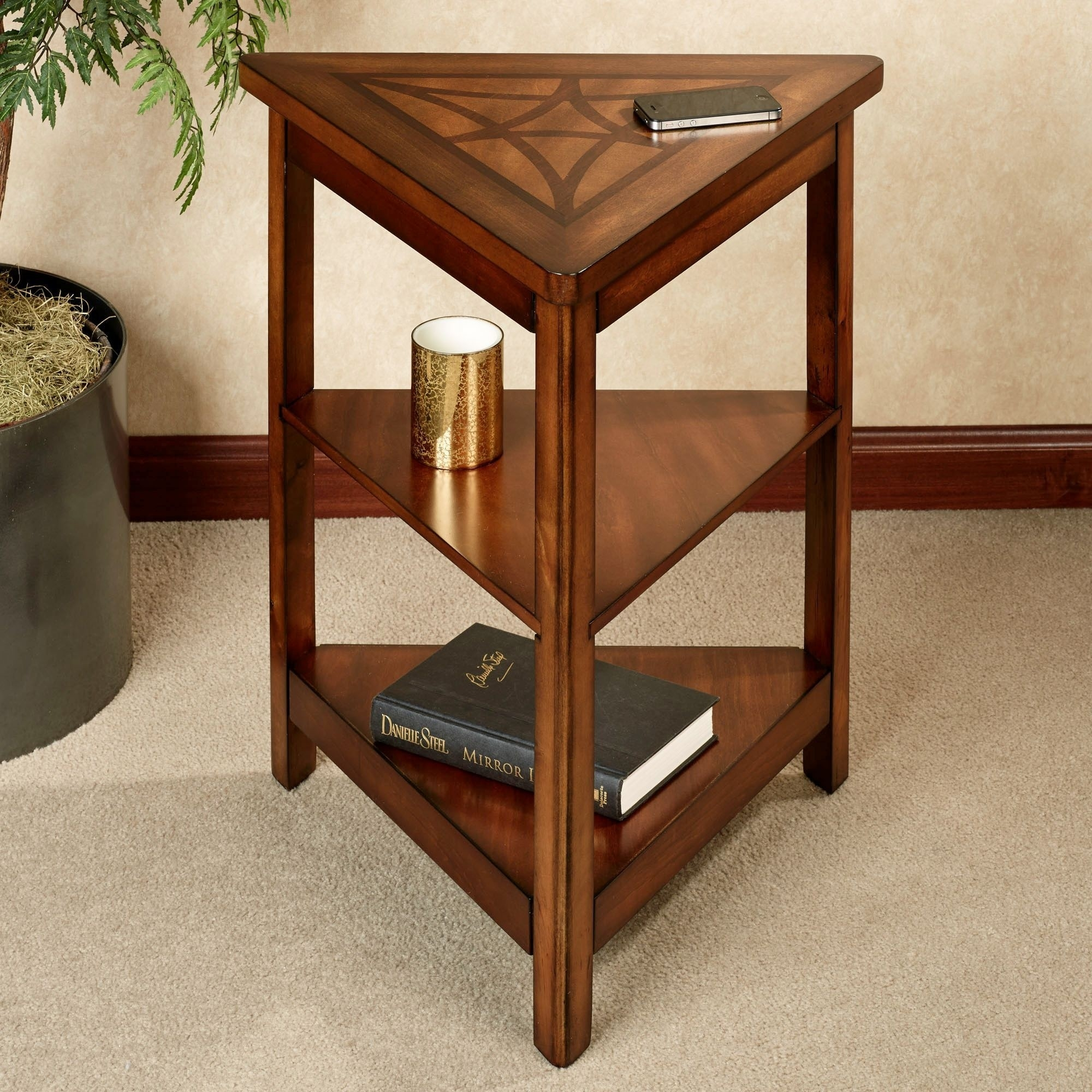 Triangle Corner Table Ideas On Foter
