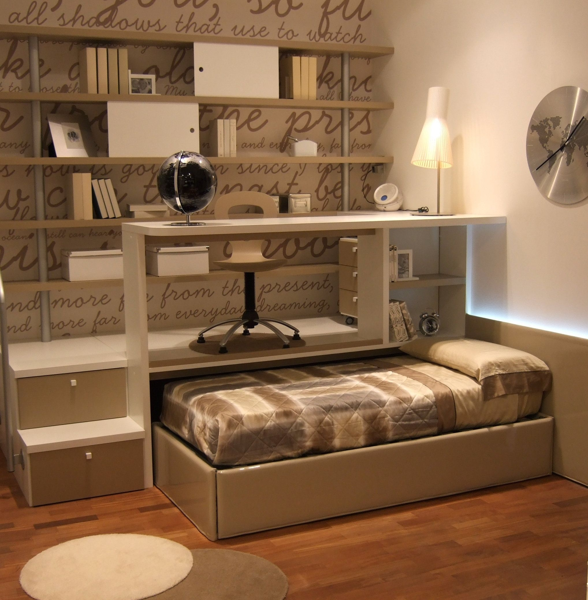 Trundle Bed With Desk Ideas On Foter