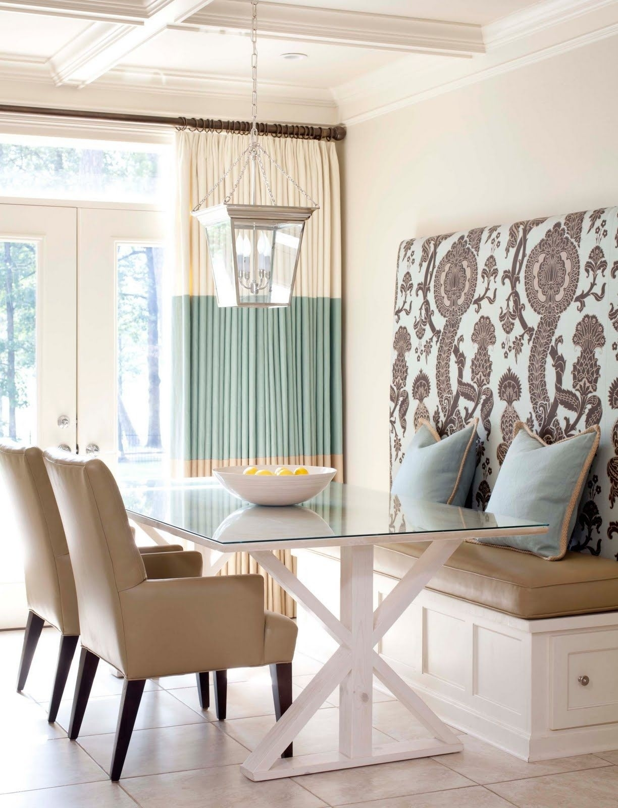 Picture of: Upholstered Dining Bench With Back For 2020 Ideas On Foter