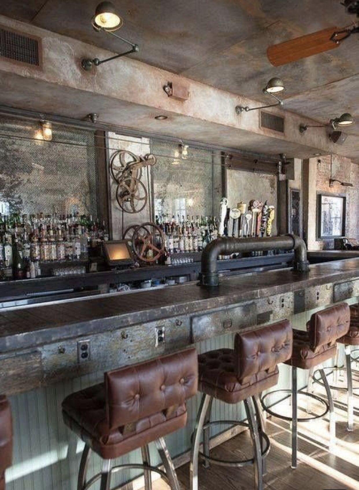 Image of: Vintage Industrial Bar Stools Ideas On Foter