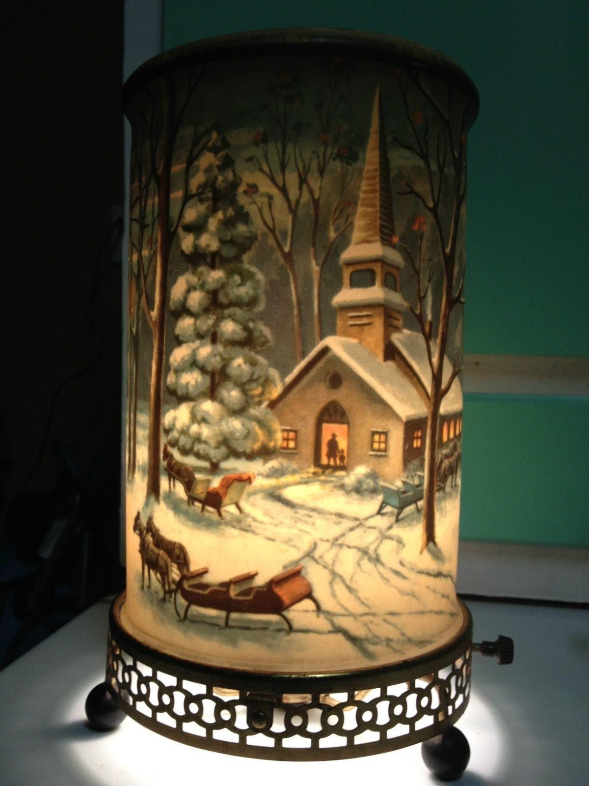 Econolite  Motion Lamp Night Rider Cowboy western Desk lamp Rockabilly Vintage Bedroom Enchanted Lantern LA California