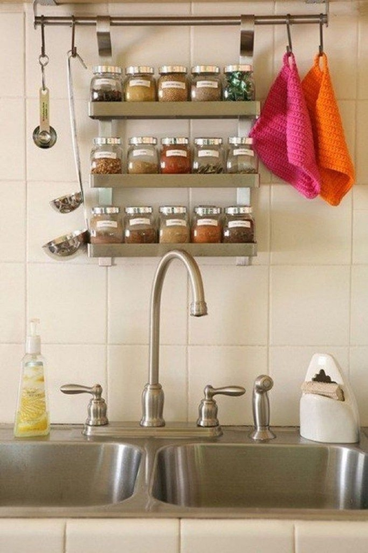 Image of: Wall Hanging Spice Rack Ideas On Foter