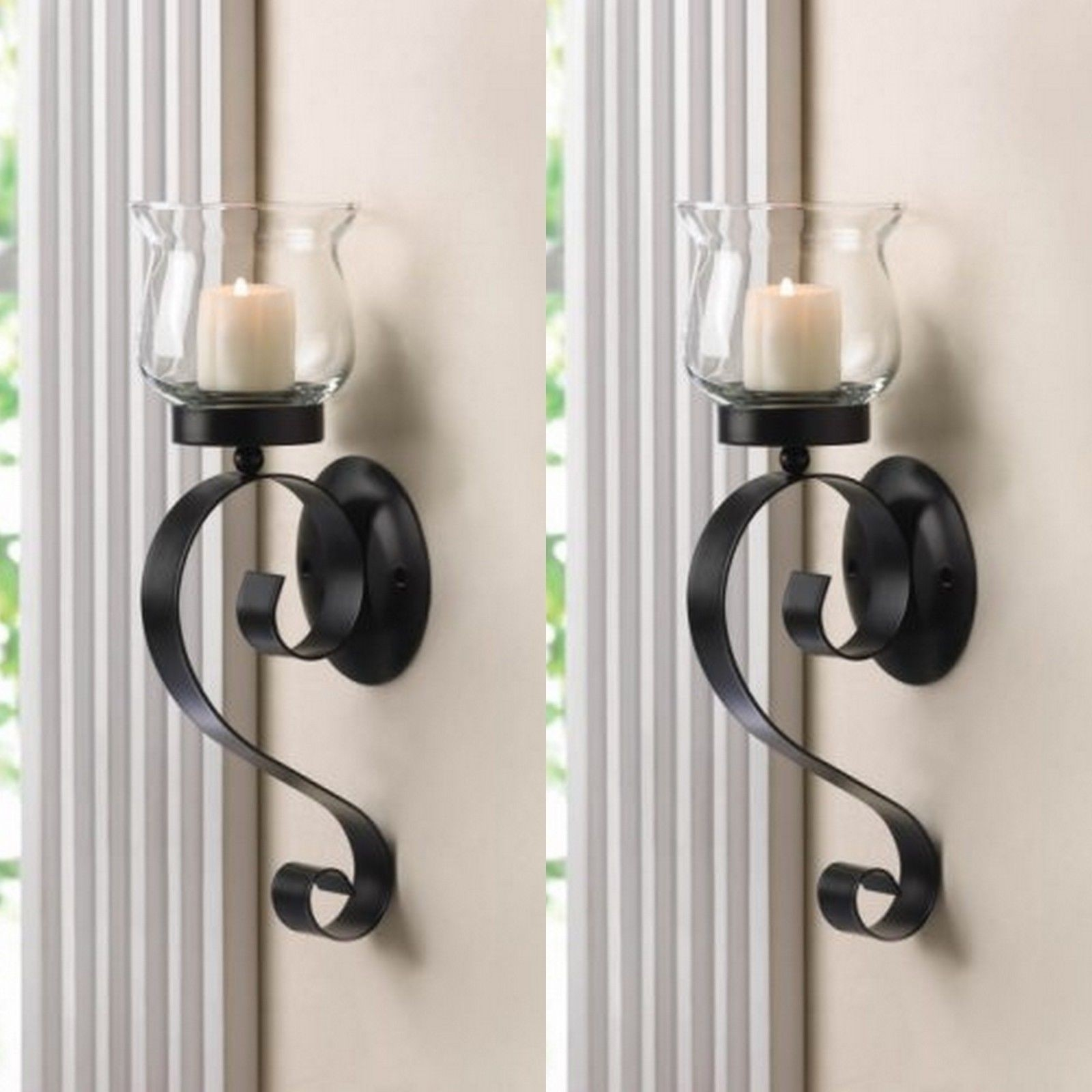 Wall Sconces Candles Wrought Iron Ideas On Foter