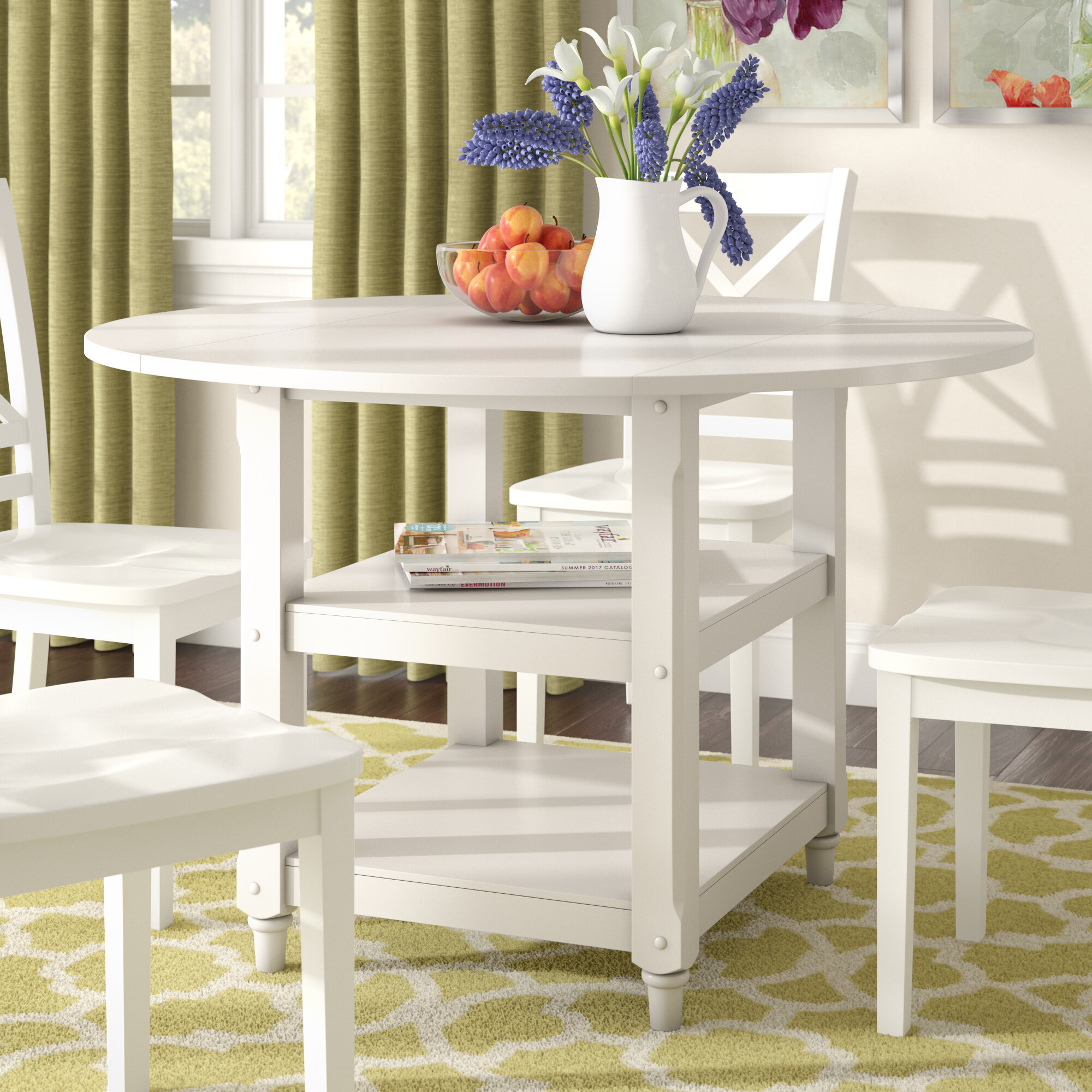 White Round Dining Table Ideas On Foter
