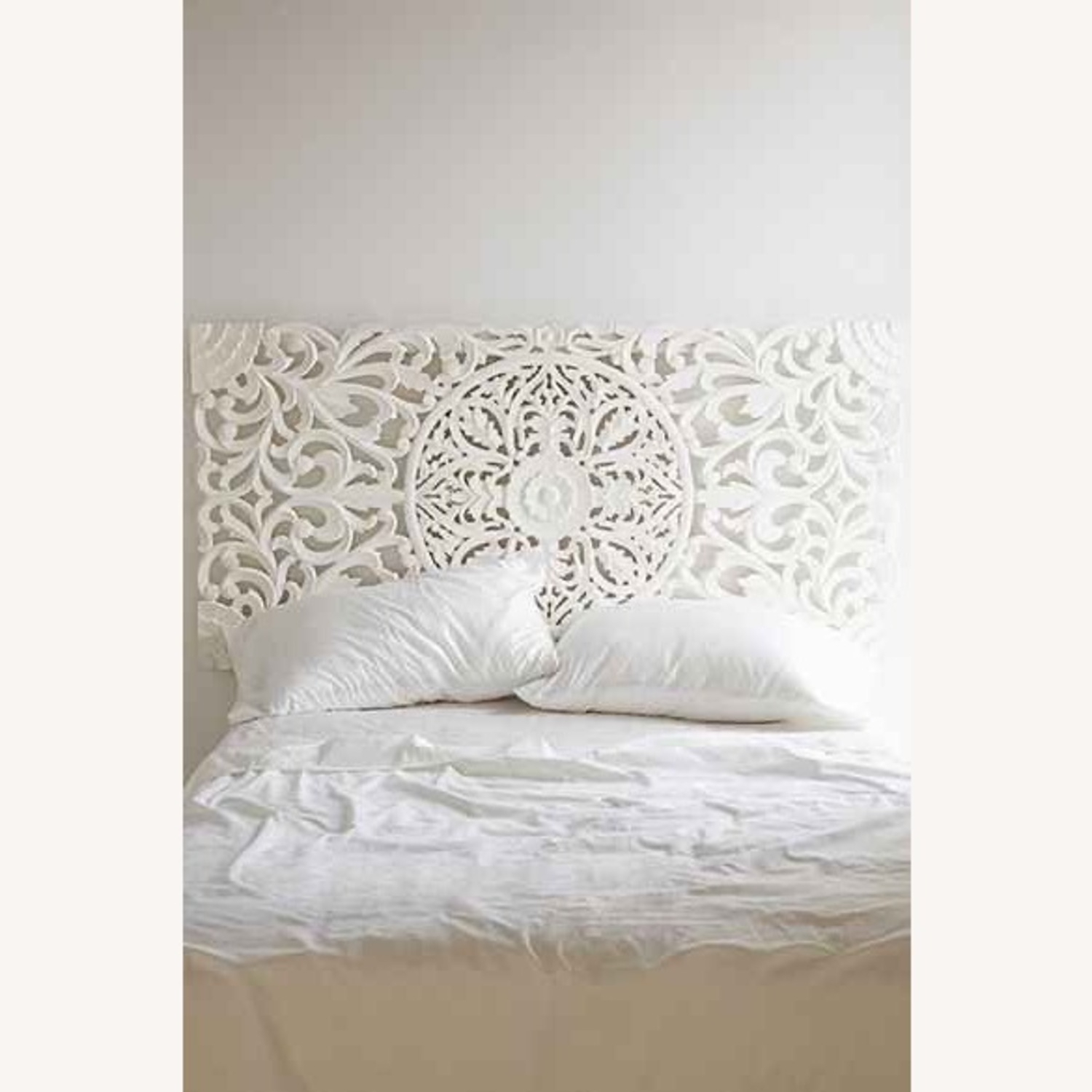 White Wood Headboard Ideas On Foter