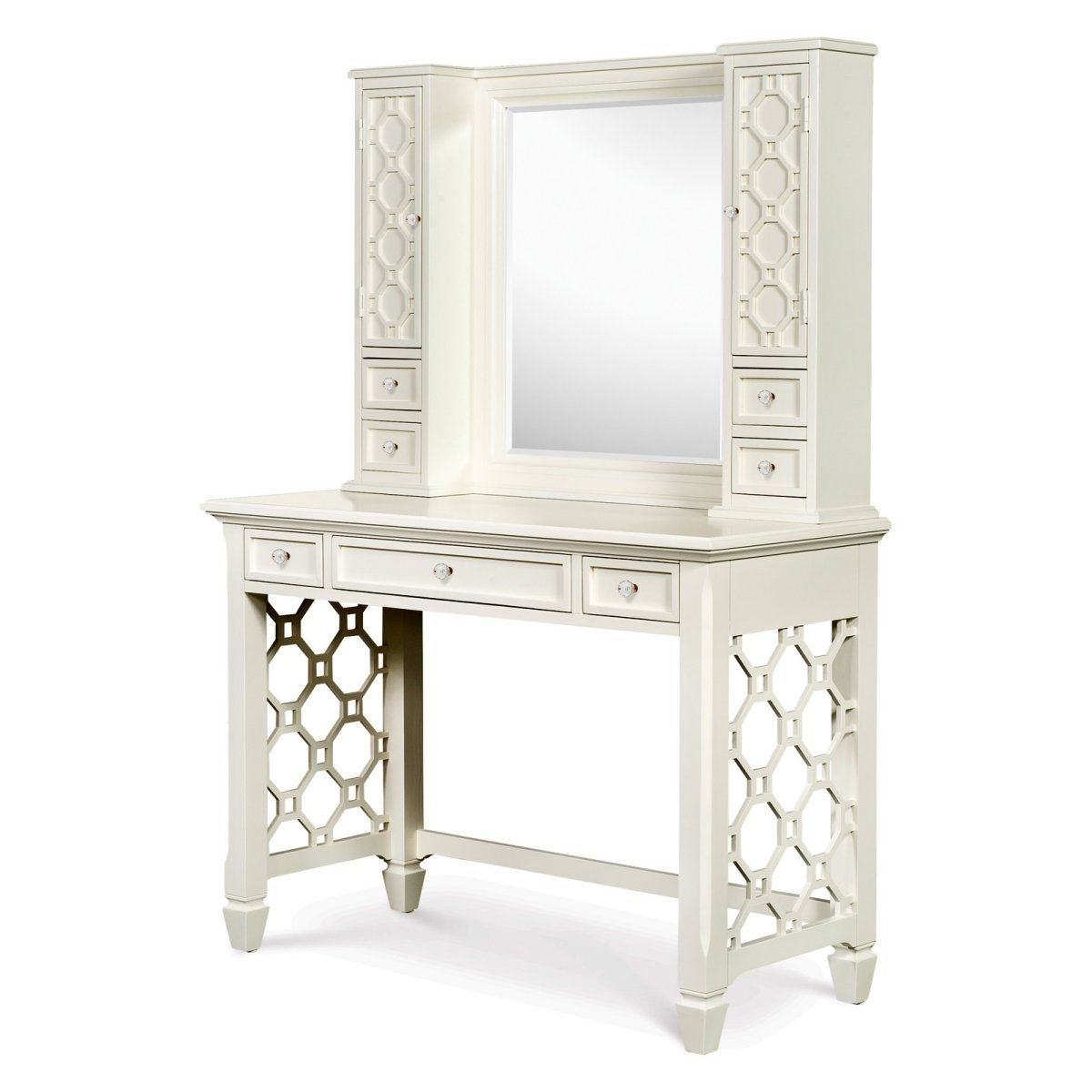 White Writing Desk With Drawers Ideas On Foter