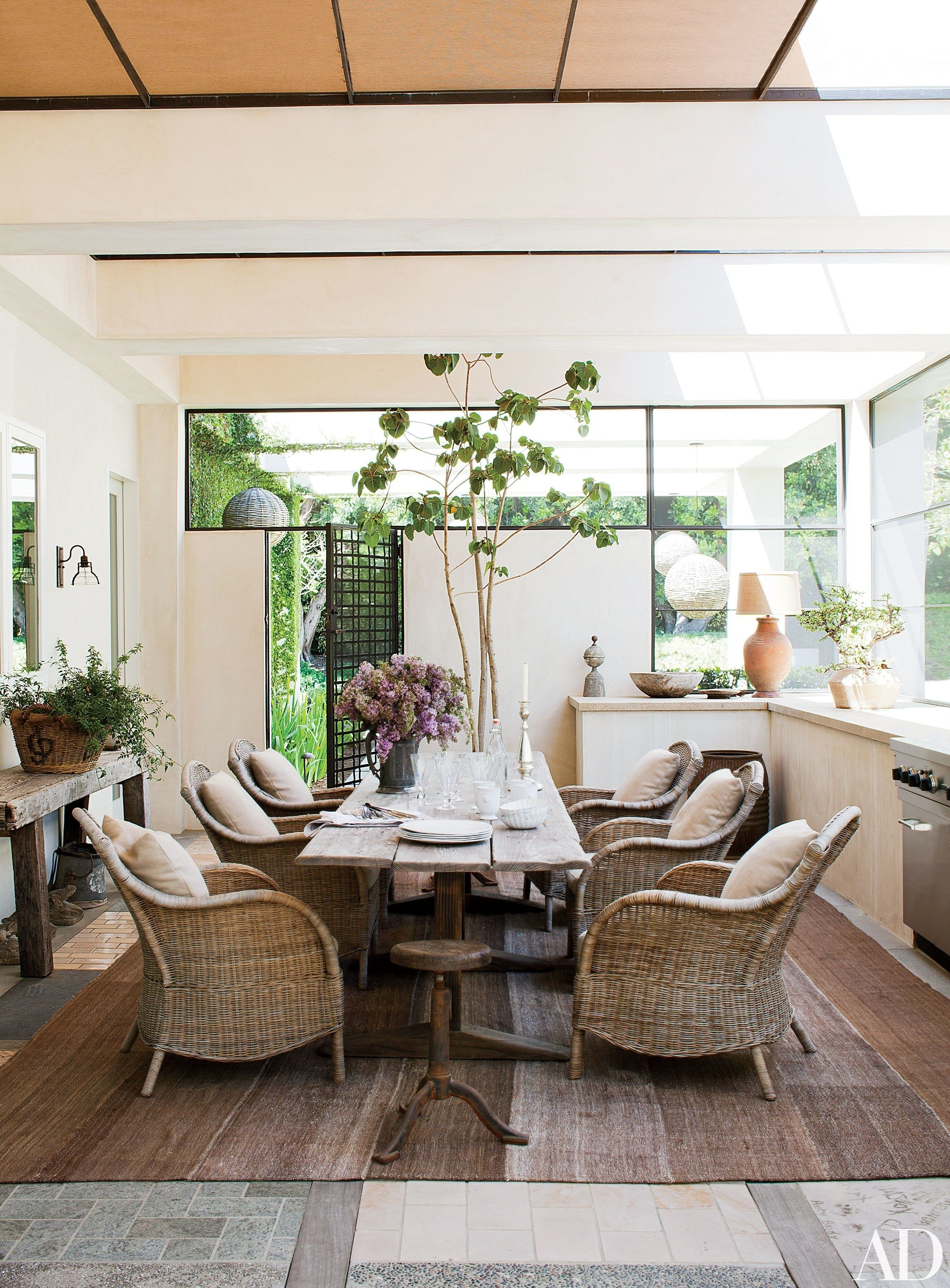 Picture of: Wicker Indoor Dining Chairs Ideas On Foter