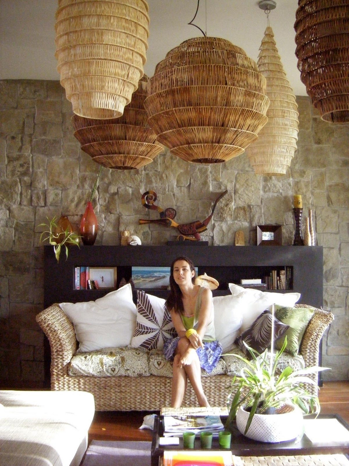 Wicker Light Brown Lamp Shades Ideas On Foter
