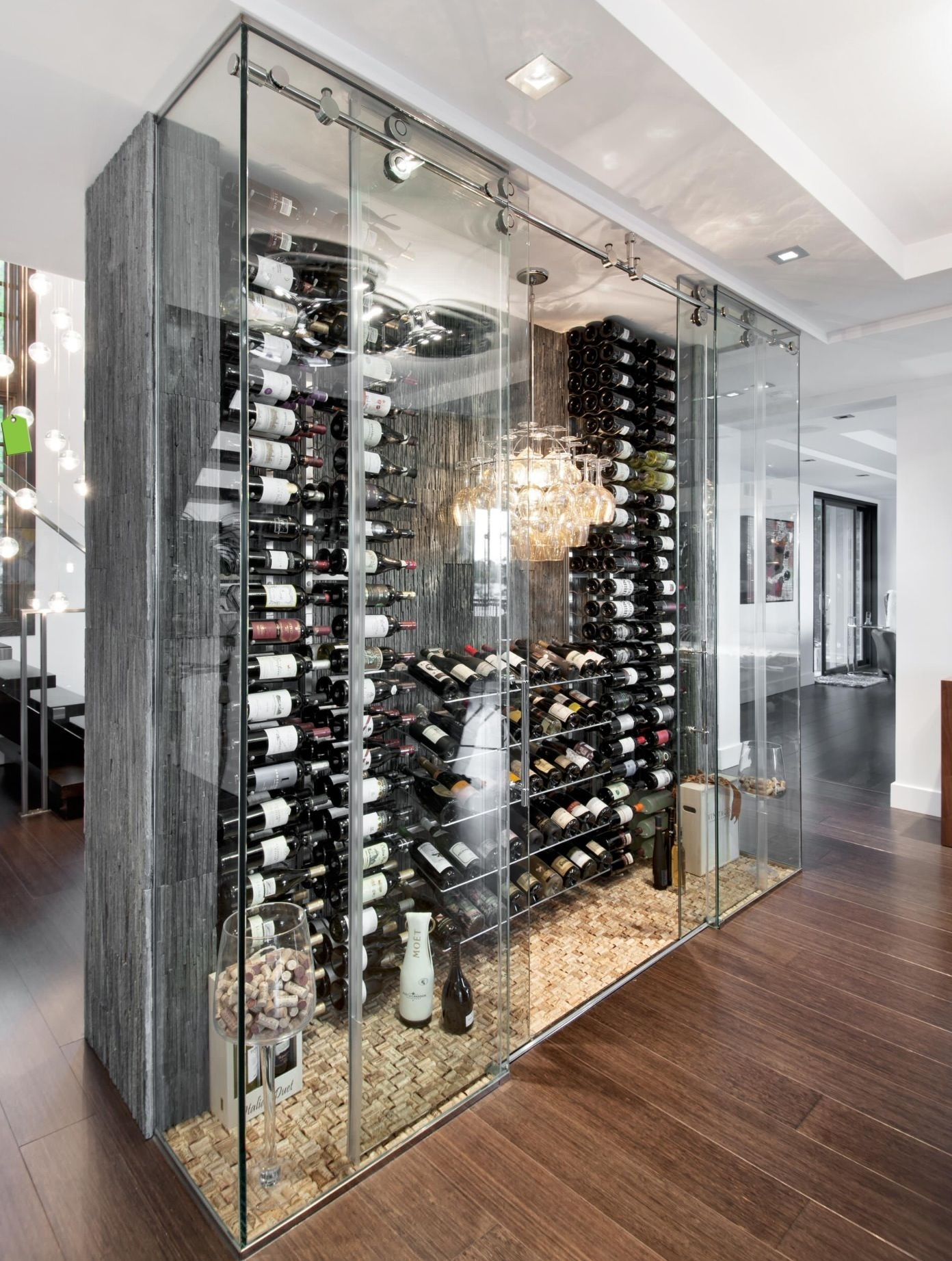 Picture of: Wine Glass Display Case Ideas On Foter