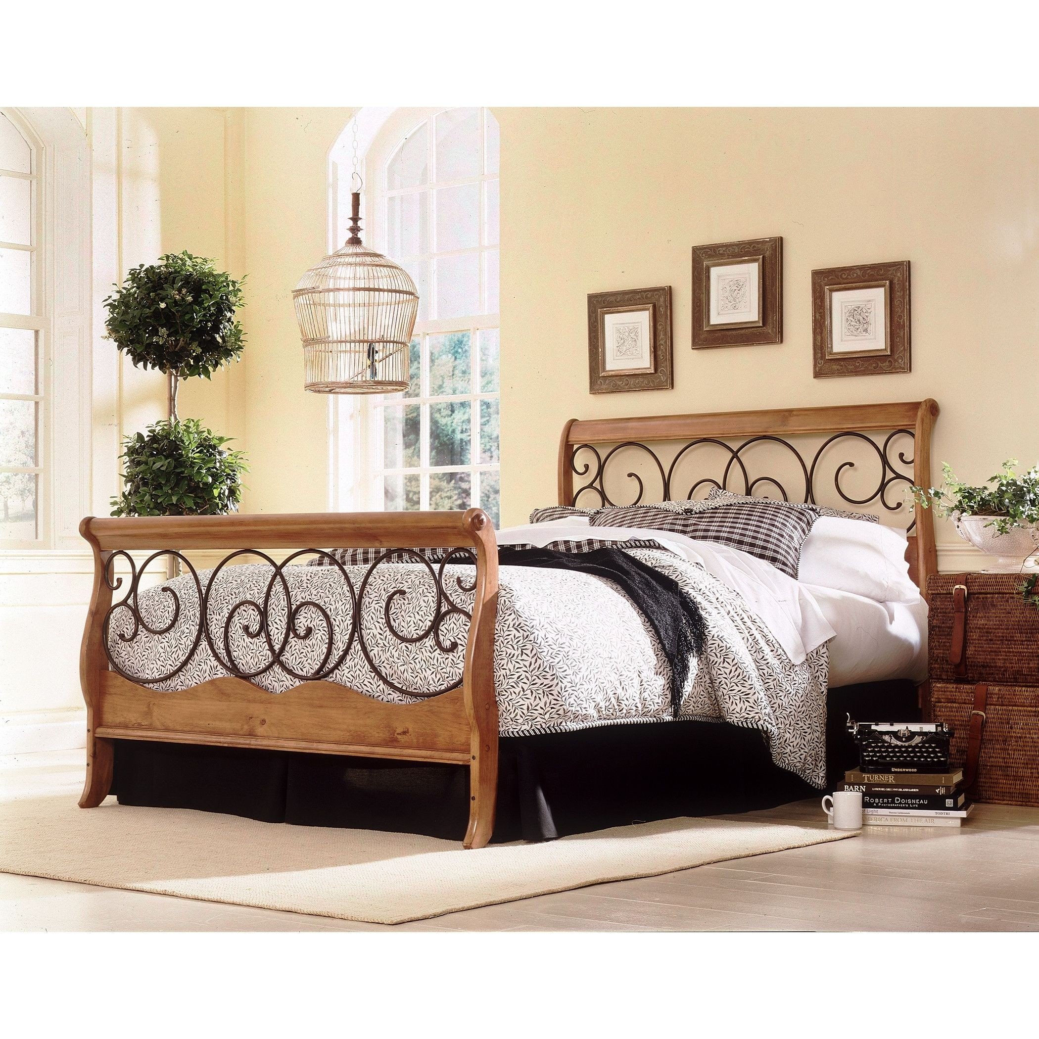 Wood And Wrought Iron Headboards Ideas On Foter