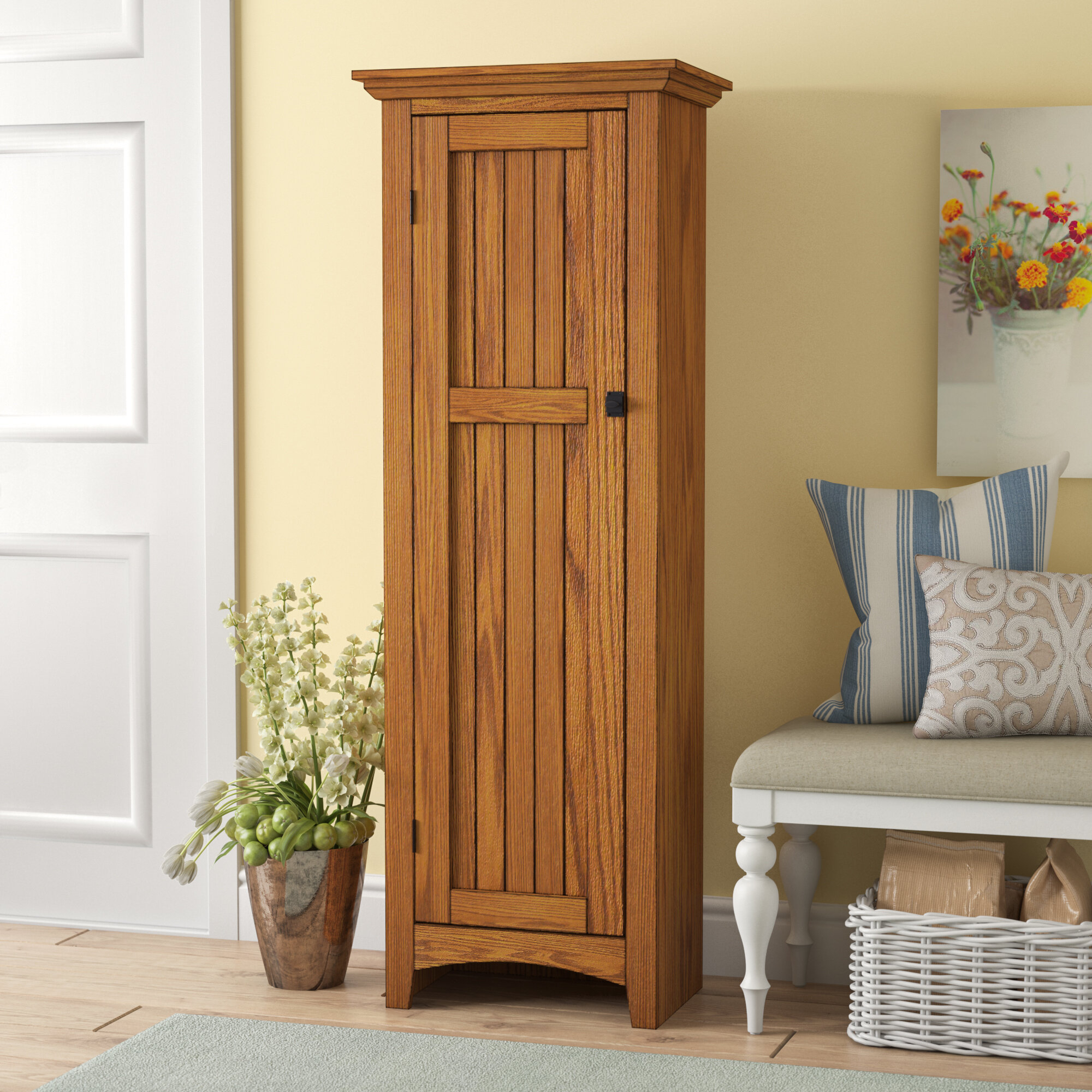 Wood Kitchen Pantry Cabinet Ideas On Foter