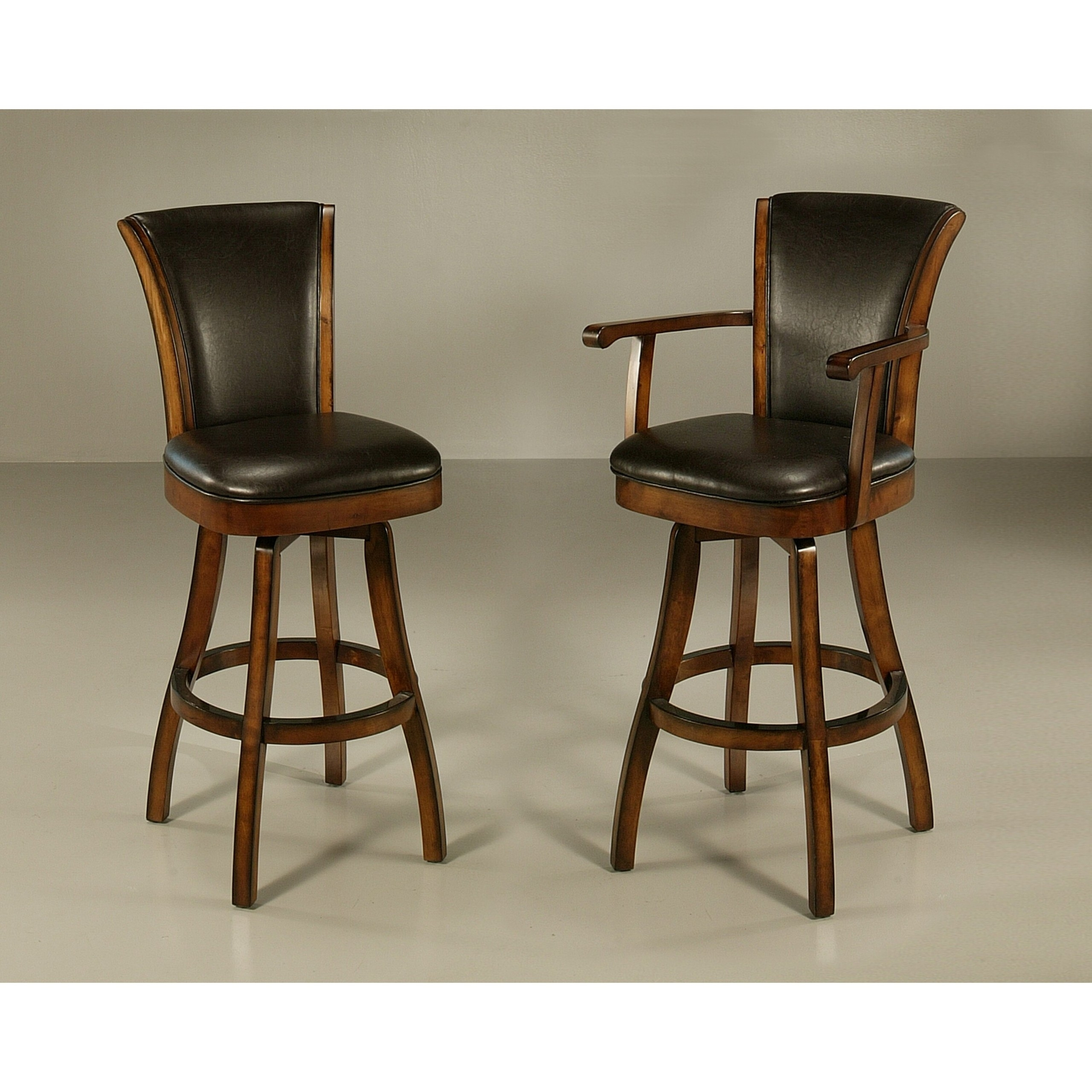Wood Swivel Bar Stools With Arms Ideas On Foter