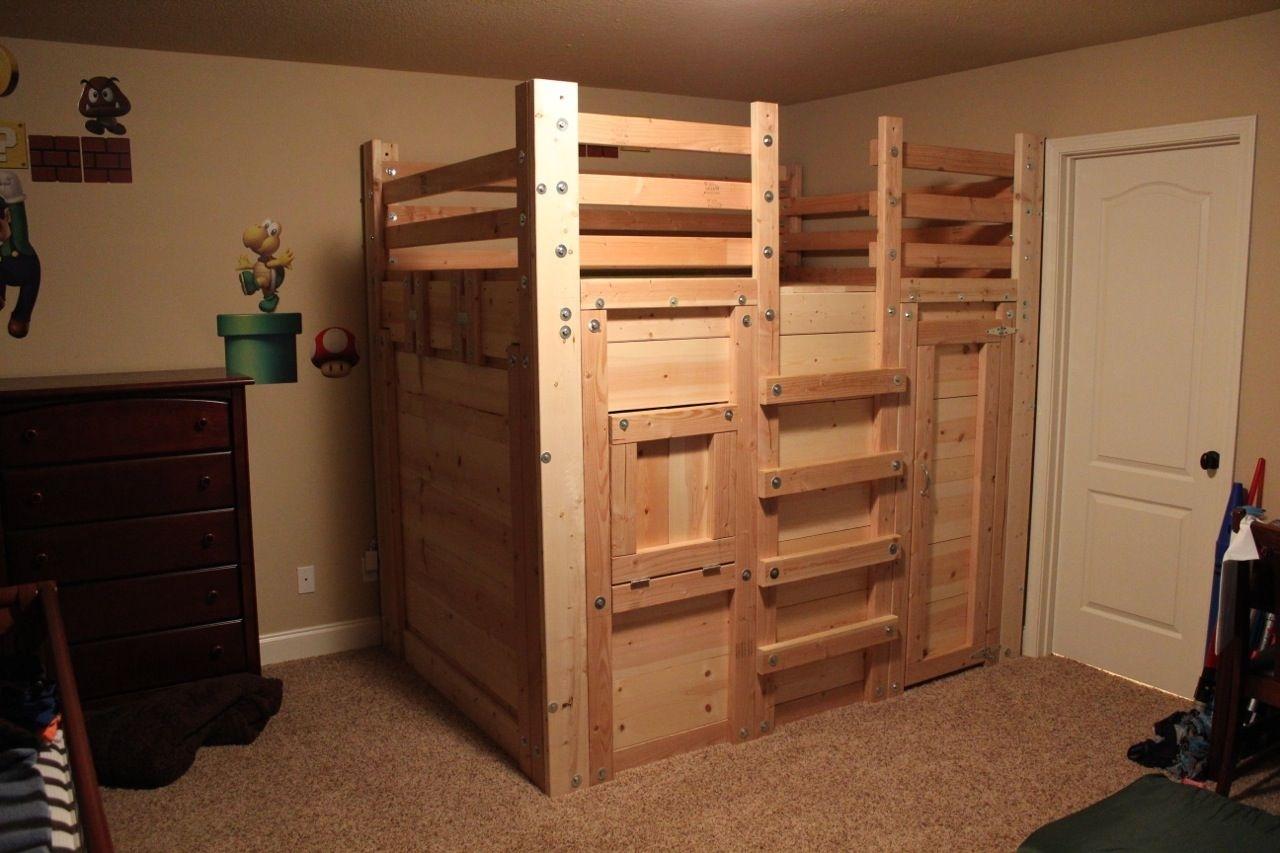 Wooden Loft Bunk Beds Ideas On Foter