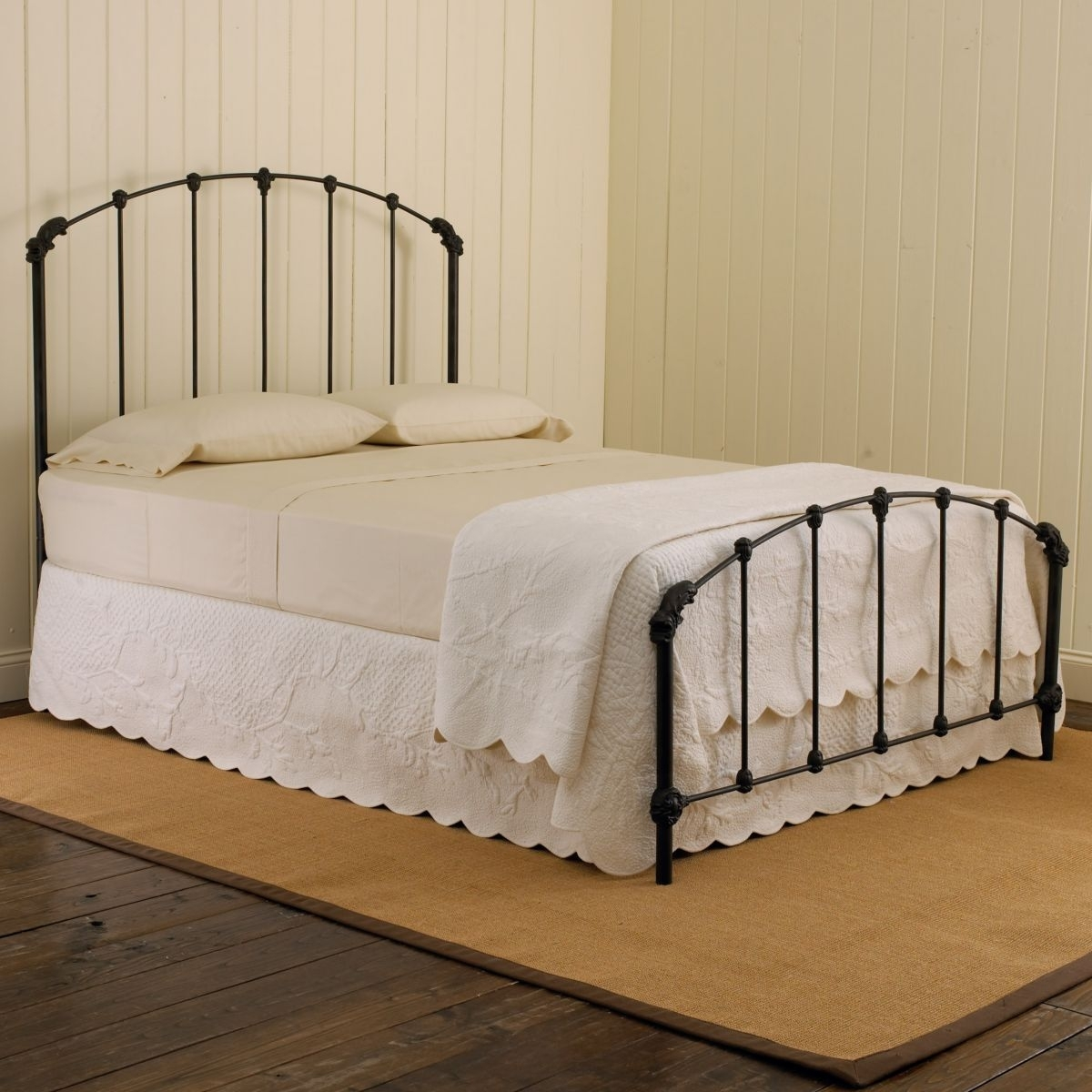 Picture of: Wrought Iron Twin Headboard Ideas On Foter