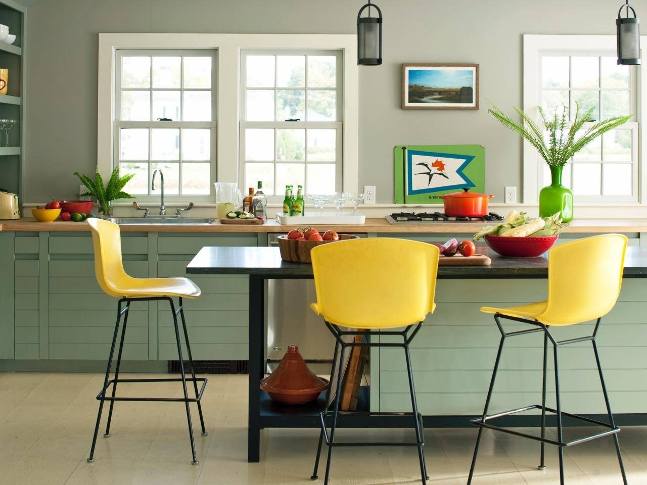 Picture of: Yellow Bar Stools Ideas On Foter